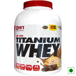 100% Pure Titanium Whey 5lb Chocolate Graham Cracker